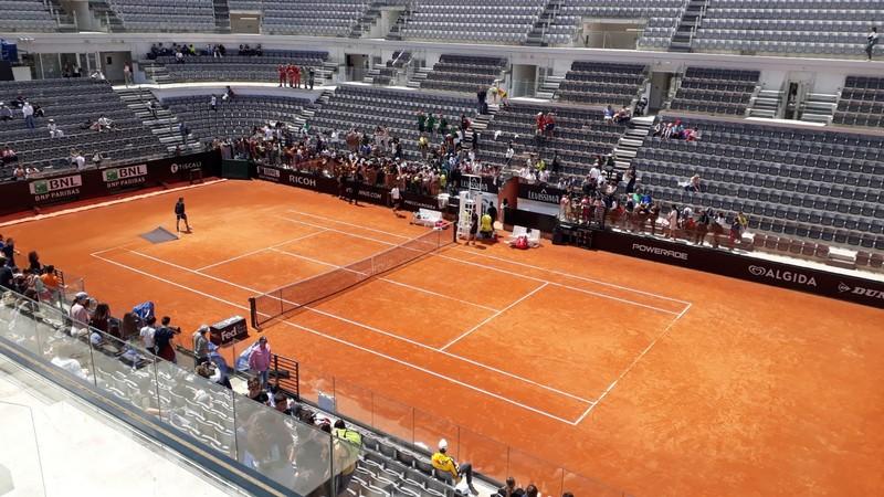 FOTO – La primaria agli Internazionali di Tennis