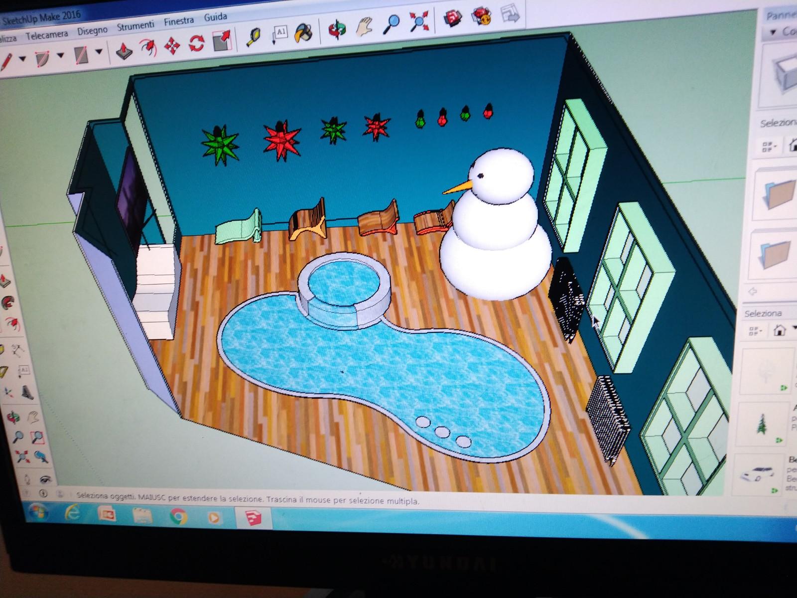 Disegno 3D con Sketchup