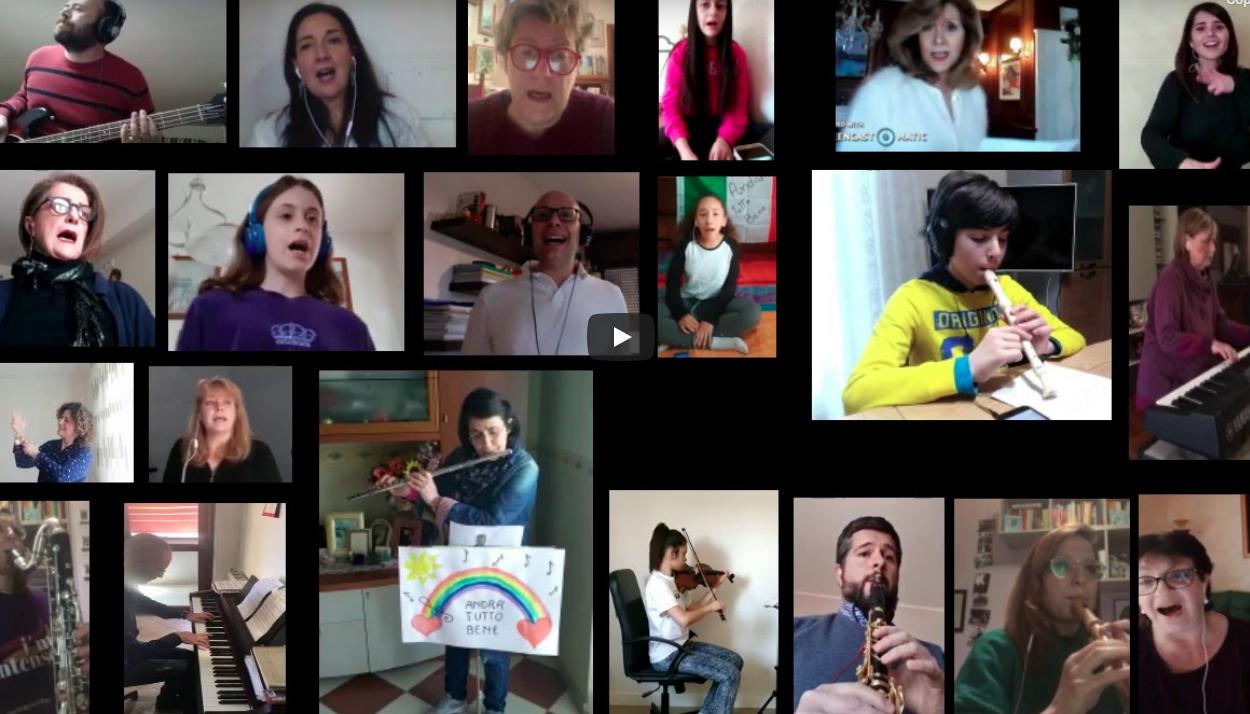 VIDEO – Musica insieme… a distanza!